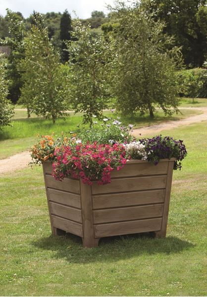 Teak Newforest Planter
